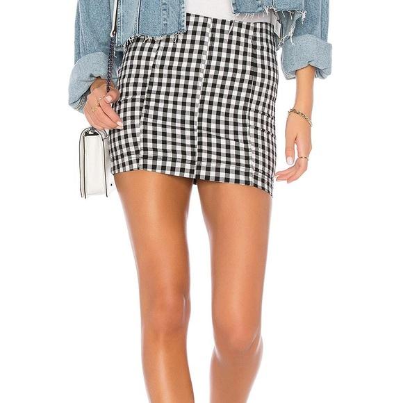 7c7ad2f1e Free People Skirts | Modern Femme Novelty Mini Skirt | Poshmark